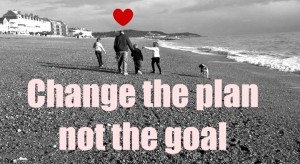 Change the plan, not the goal
