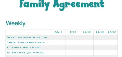 Family Agreement