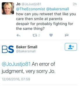 Bakers Small Apology 1