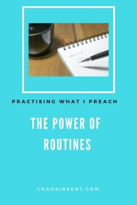 The Power of Routines (and why everyone should have them)